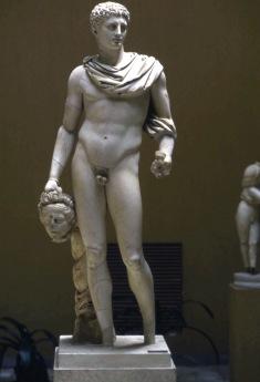 Rom197 Ostia / Museum - Statue des Perseus